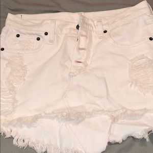 light wash pink LF CARMAR skirt